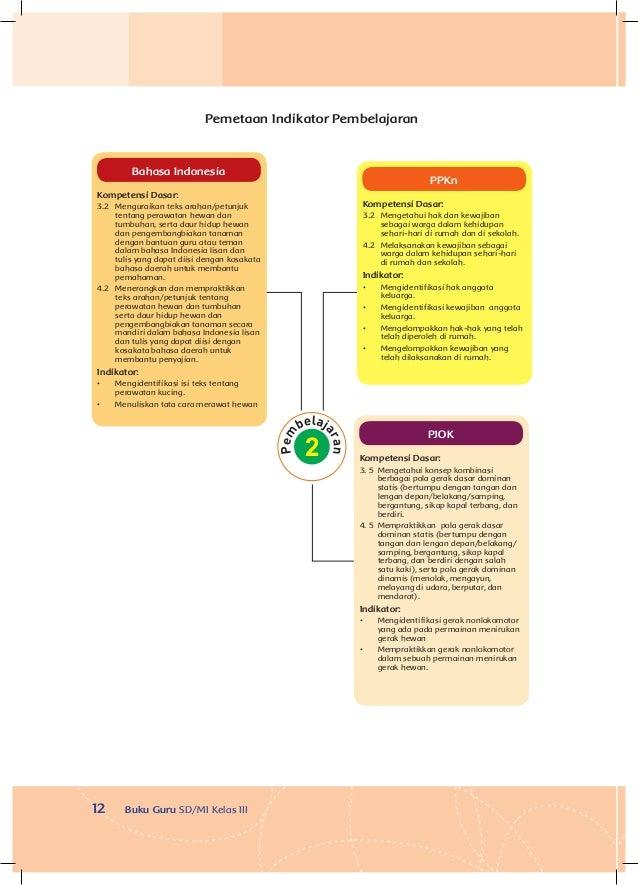 Download Buku Guru Dan Siswa Kelas 3 Sd Kurikulum 2013