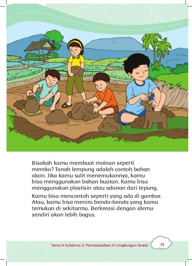 Peduli Lingkungan Sosial Buku Siswa Kelas 3 Tema 4