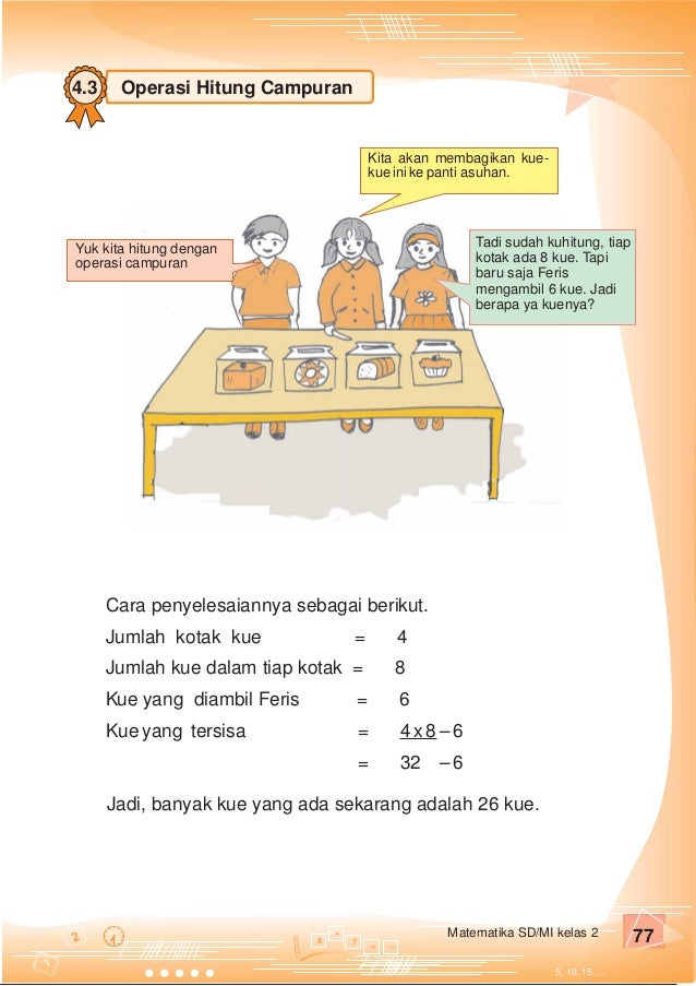 Kelas Ii Sd Matematika Purnomo Sidi