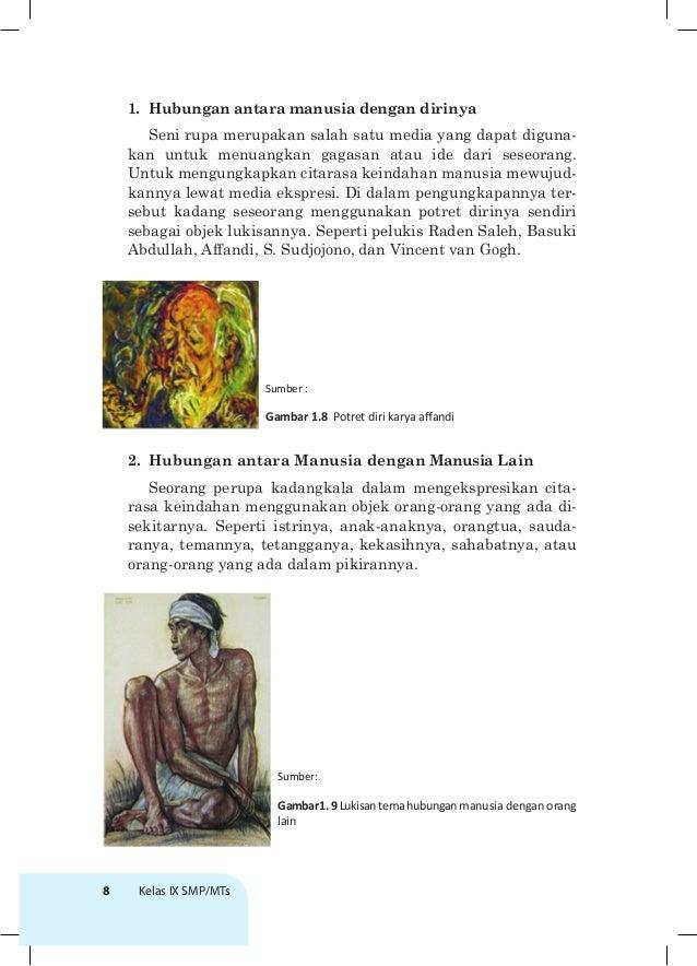 Hubungan Antara Manusia Dengan Manusia Lain Beserta Judul Lukisan Dan Gaya Lukisannya