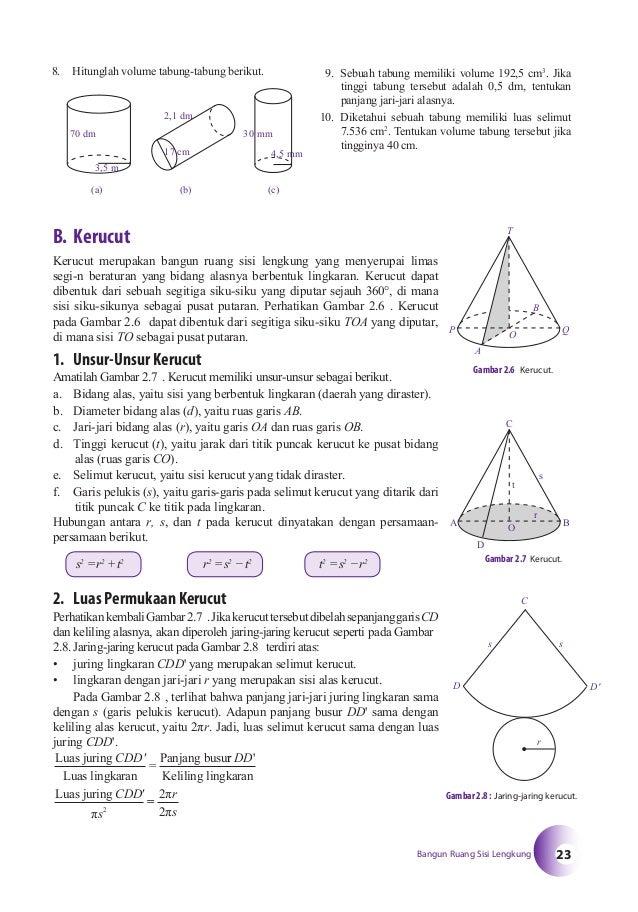 Buku Matematika Smp Kelas 9 Bse