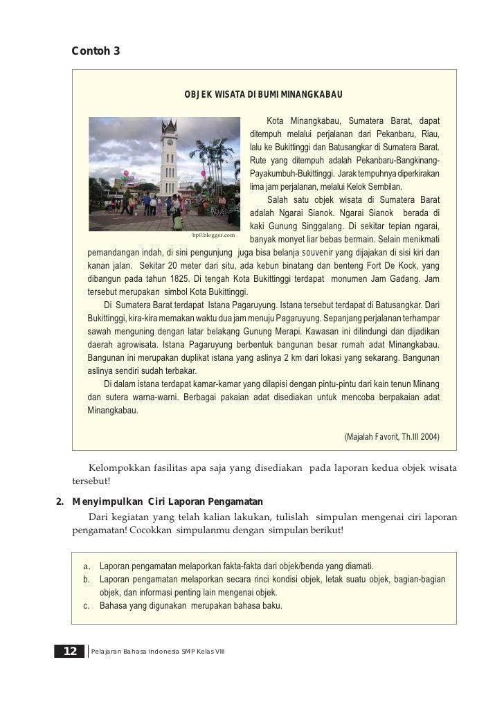 Contoh Deskripsi Tentang Tempat Wisata Di Indonesia Dalam Bahasa