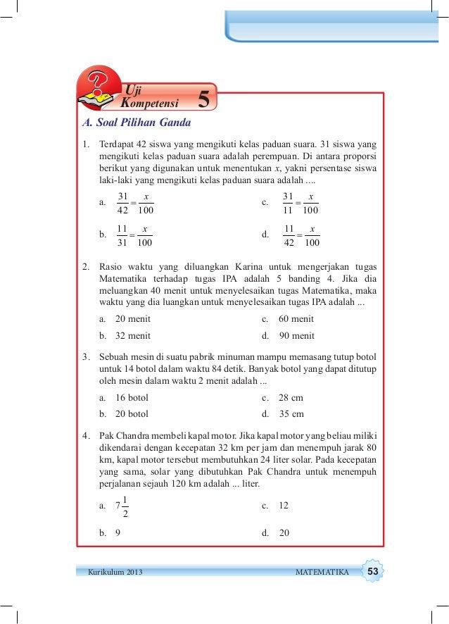 Kunci Jawaban Uji Kompetensi 6 Matematika Kelas 8 Semester 2 Ilmusosial Id