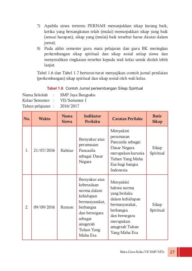 Buku Guru Kelas VII PPKn Kurikulum 2013 (Edisi Revisi 2016)