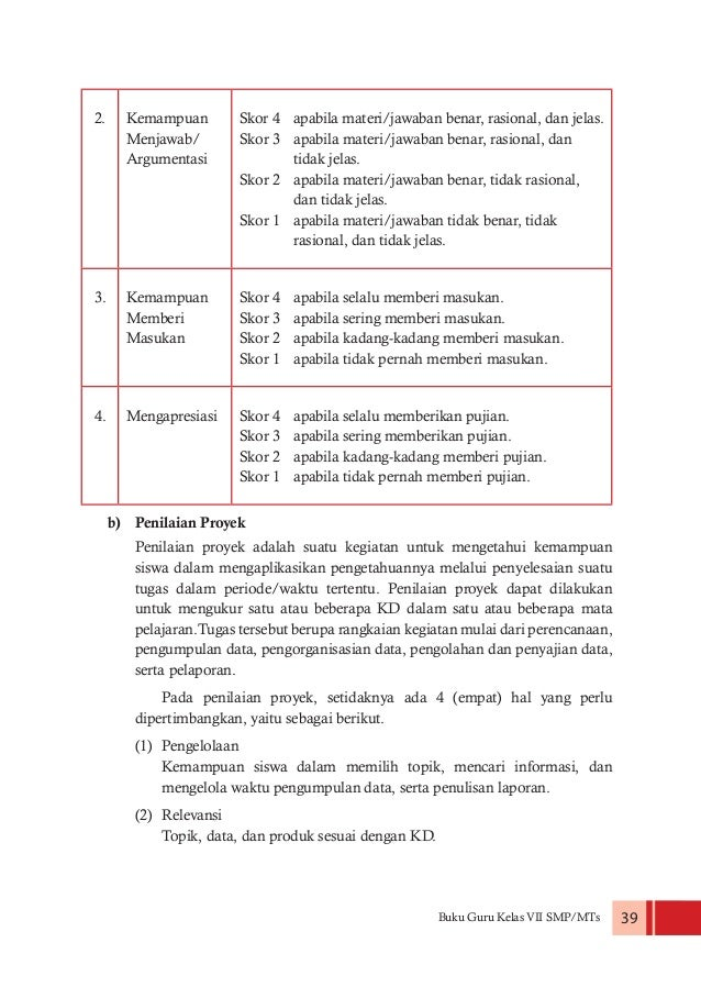 Buku Guru Kelas Vii Ppkn Kurikulum 2013 Edisi Revisi 2016