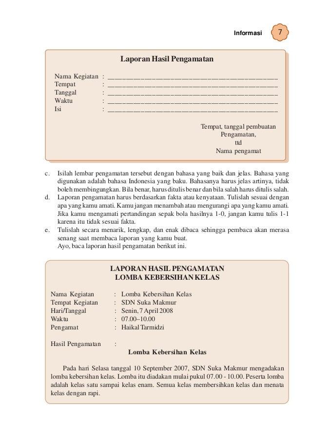 Kelas Vi Sd Bahasa Indonesia Umri Nuraini