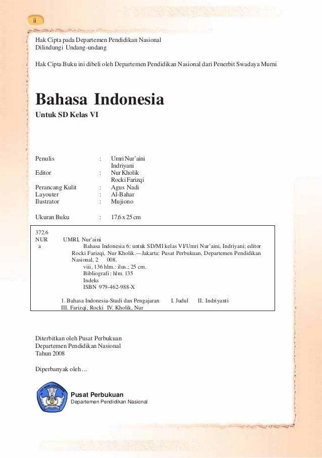 Kelas V Sd Bahasa Indonesia Umri Nuraini Slideshare