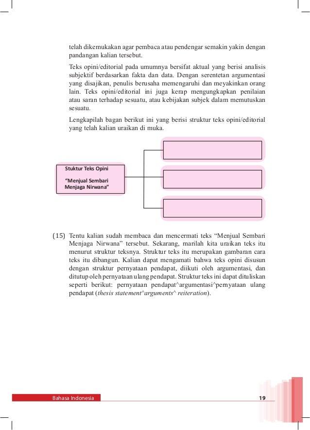 Bahasa Indonesia Kelas Xii Smt 2 K13