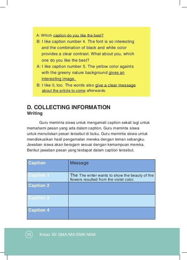 Bahasa Inggris Kelas Xii K13 Buku Guru