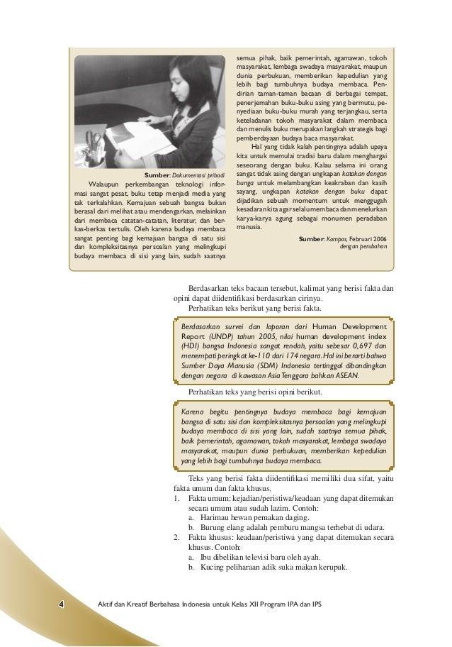 Gunarso Blog Artikel Pendidikan Fakta Dan Opini