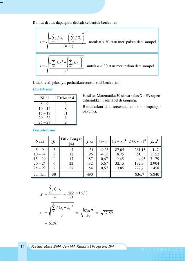Contoh soal diagram kotak garis dan penyelesaiannya wiring kelas xi sma ipa matematikanugroho soedyarto 53 statistika 47 6 diagram kotak garis ccuart Gallery