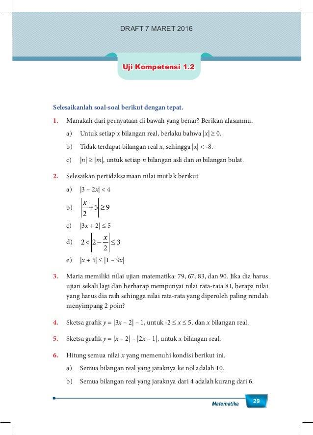 Penyelesaian Soal Uji Kompetensi 2 2 Halaman 67 Ma