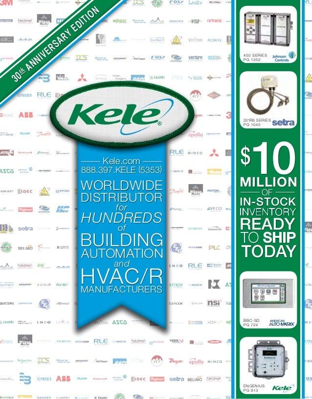 Kele Building Automation Catalog 2014 2015