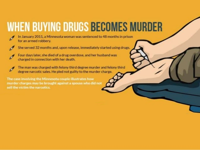 When Buying Drugs Becomes Murder?
