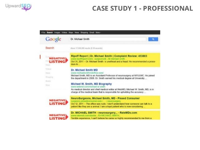 CASE STUDY 1 - PROFESSIONAL