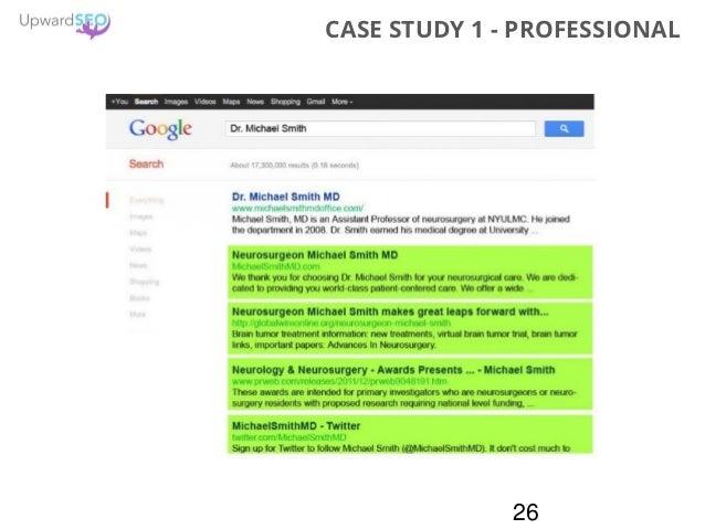 26 CASE STUDY 1 - PROFESSIONAL