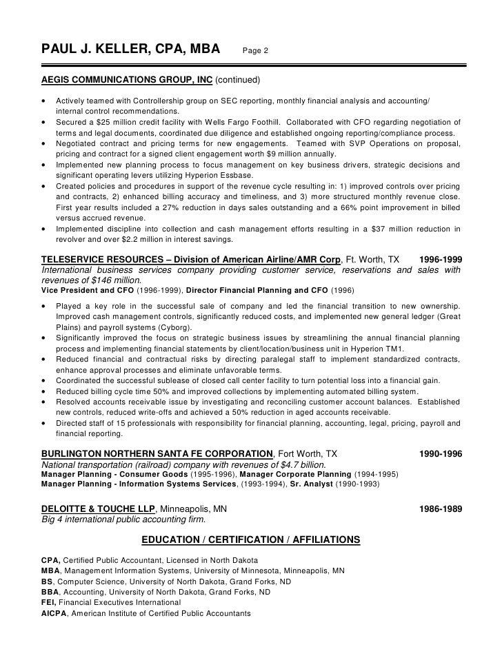 big 4 resume sample - Muck.greenidesign.co