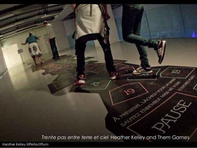 Trente pas entre terre et ciel Heather Kelley and Them GamesHeather Kelley @PerfectPlum