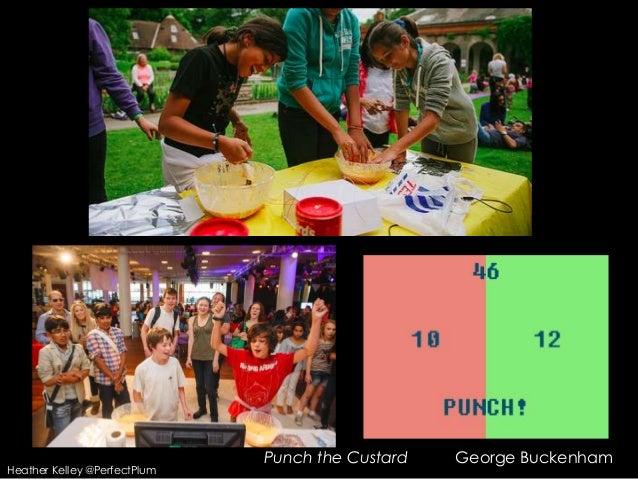 Punch the Custard George BuckenhamHeather Kelley @PerfectPlum