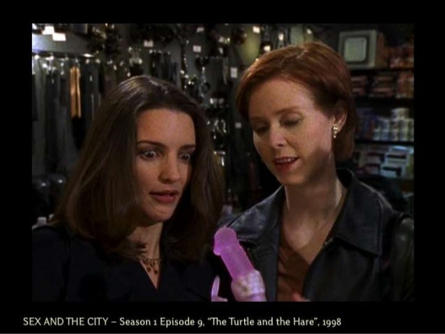 """SEX AND THE CITY – Season 1 Episode 9, """"The Turtle and the Hare"""", 1998"""
