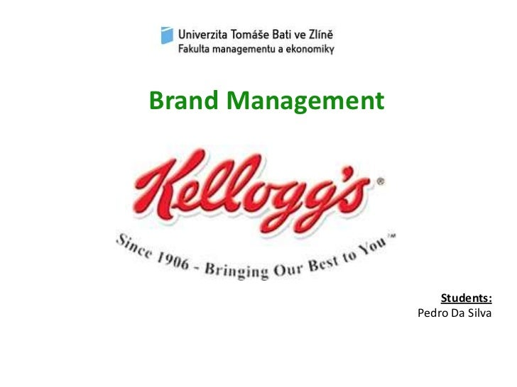 Brand Management<br />Students:<br />Pedro Da Silva<br />