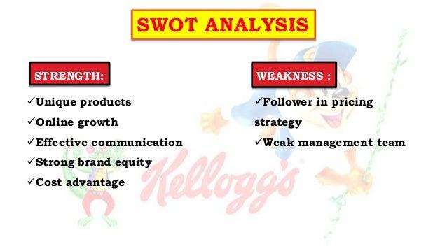 Kelloggs Swot Analysis