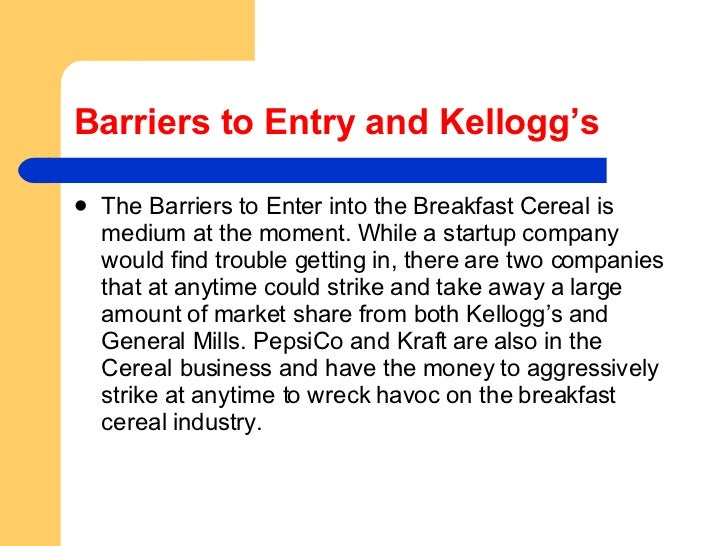 kelloggs main customers
