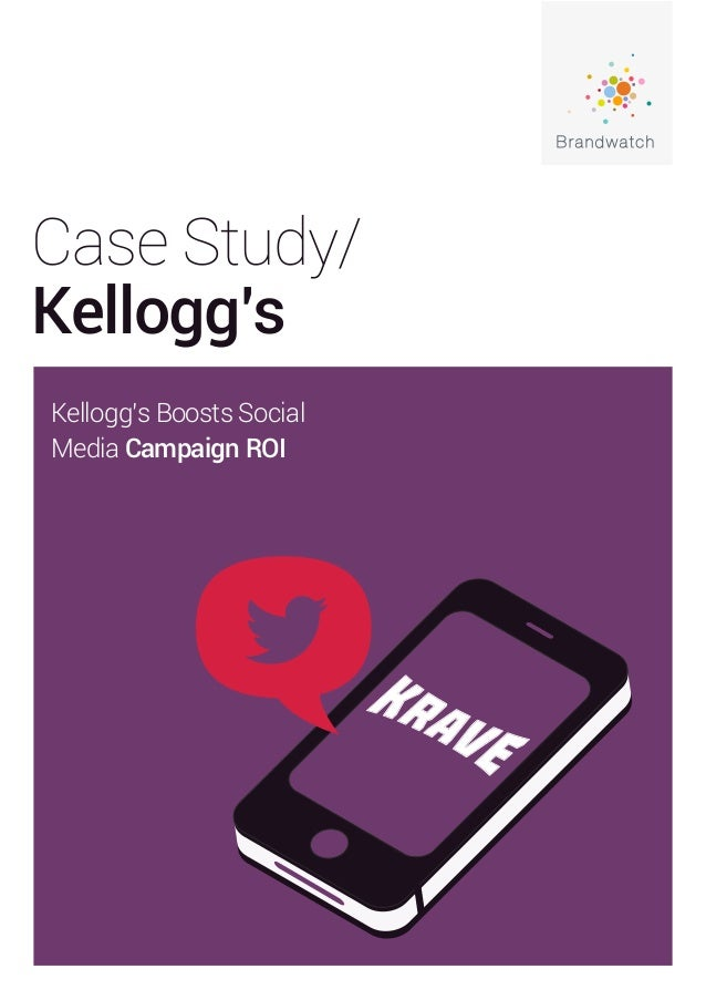 case study on kelloggs Case study on kellogg 1 case study on kellogg's q1 describe the purpose of market research a market research is a specific area of marketing that.