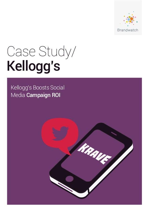 Case Study/ Kellogg's Kellogg's Boosts Social Media Campaign ROI