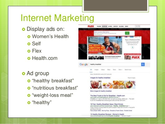 kellogs internet marketing Kellogg is the second largest cereal company in the us with a retail market  share of 25%, slightly behind the market leader, general mills.