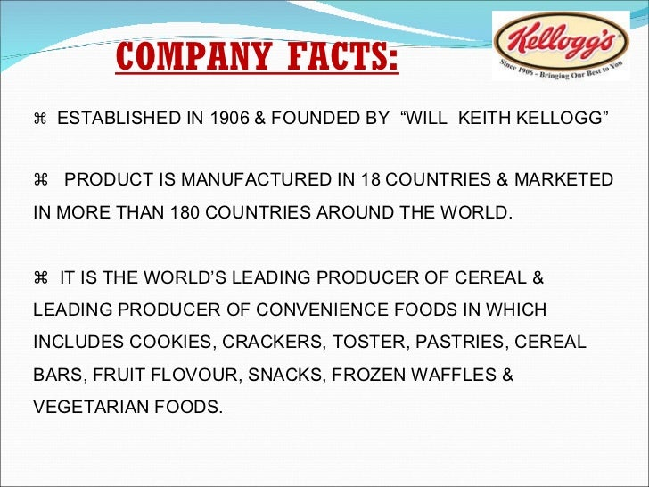 pestel analysis of kellogg india Kelloggs swot analysis is covered on this page along with usp & competition it  also includes kelloggs' segmentation, targeting & positioning (stp) along with.