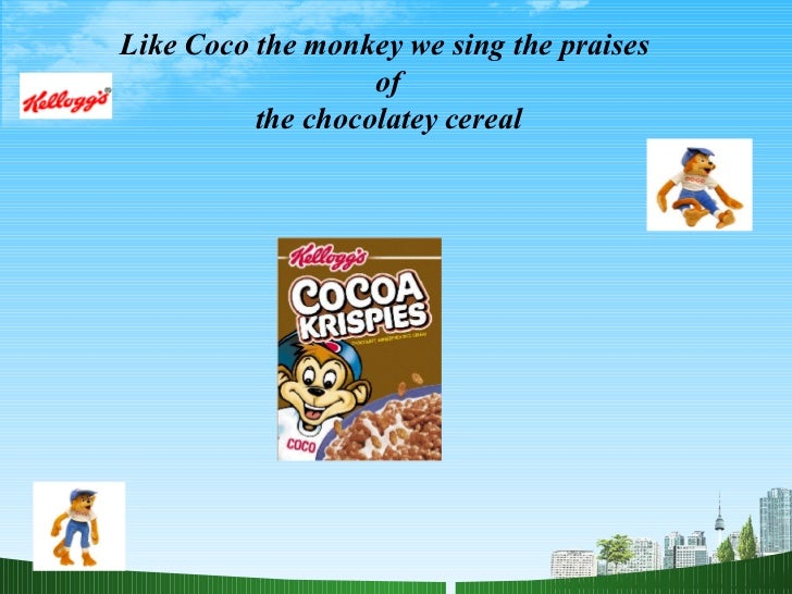Marketing plan cereal bars