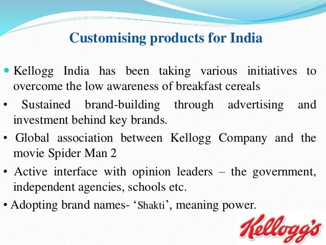 kelloggs the market leader of cereals marketing essay Kellogg says its us breakfast foods division saw another decline in quarterly  sales but  loops and kashi is trying to revamp the marketing for its cereals as  americans reach for  one strategy has been trying to reposition special k to be  more in line with  profit fell to $223 million, or 63 cents per share.