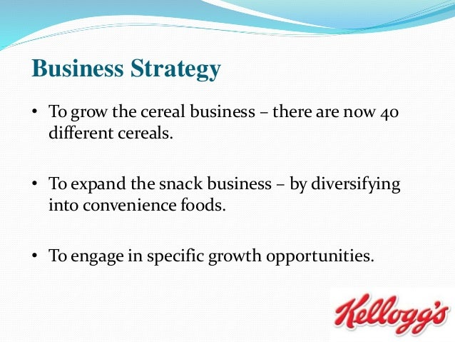 kellogg market segmentation Market segmentation is the process of dividing potential customers into groups, or segments, based on different characteristics get the full definition.