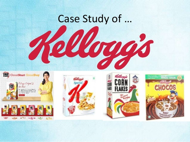 kellogg case study A case study about kellogg company at kellogg company, we are driven to enrich and delight the world through foods and brands that matter kellogg is the world's leading cereal company second-largest producer of cookies and crackers a leading producer of savory snacks.