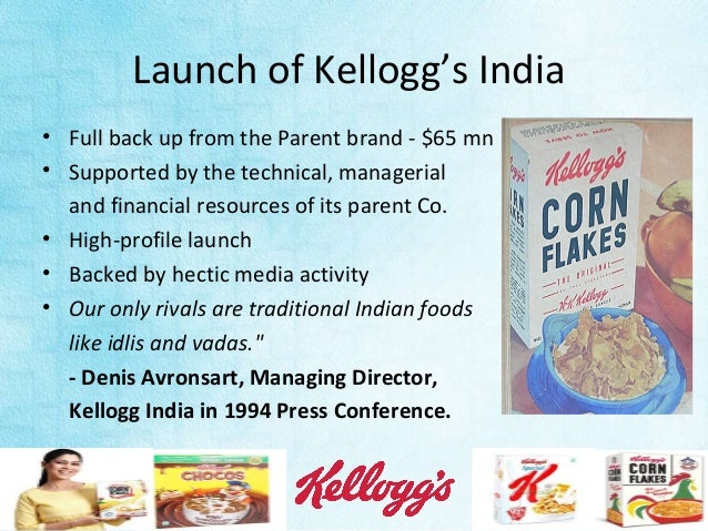 growth strategies of kelloggs india This case study summarizes nokia's business strategies in india download pdf file of this case case study resources in business strategy and other management.