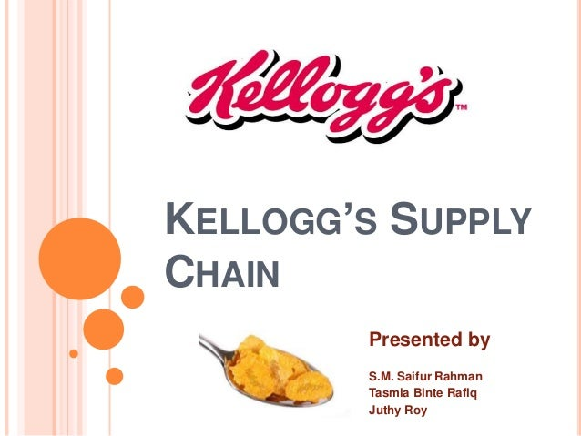 """kellogg s value chain The lawsuit claimed that kellogg's, the parent company for kashi, advertised an """"all natural"""" (gm-free) they want transparency in the entire value chain."""