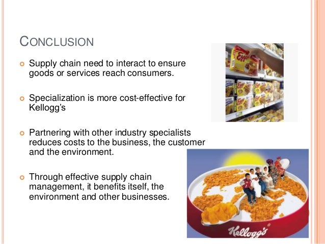 kellogg s value chain Find the latest and comprehensive swot & pestle analysis of kellogg  e-commerce to integrate the whole value chain and to  this was kellogg's strategy to.