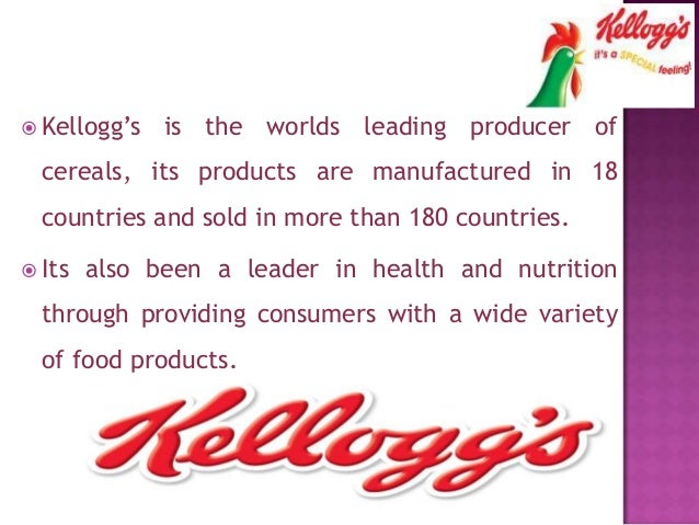 Kellogg Case Study