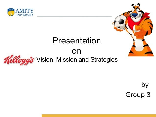 Presentation on Vision, Mission and Strategies by Group 3