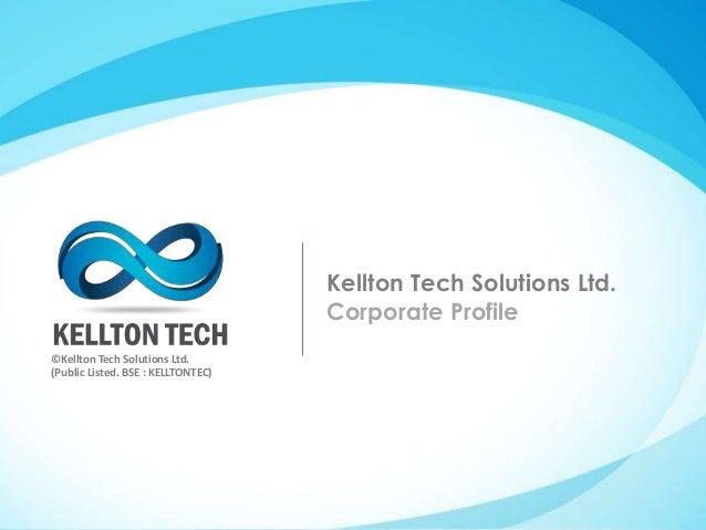Kellton Tech Corporate Profile