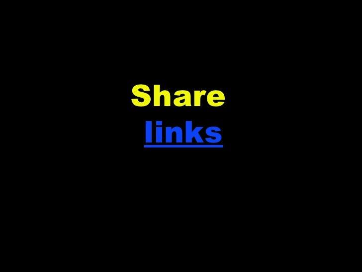 Share  links