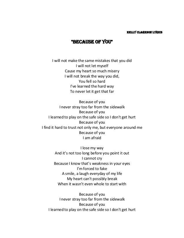canzone testi non collegare Kelly Clarkson siti di incontri Elgin
