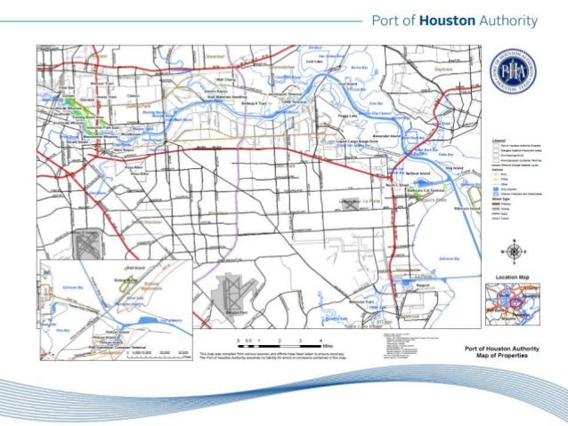 TWCA Annual Convention Port Of Houston Authority John Kennedy - Port of houston map