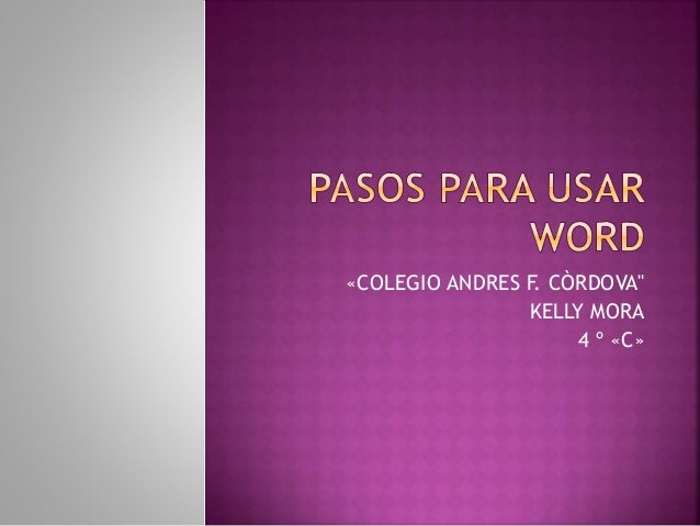 "«COLEGIO ANDRES F. CÒRDOVA"" KELLY MORA 4 º «C»"