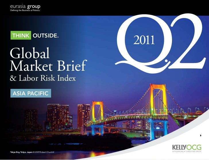 Think ouTside.GlobalMarket Brief& Labor Risk Index  asia Pacific                                                  2011    ...