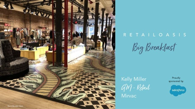 XX PIPPAKelly Miller GM-Retail Mirvac Gucci Wooster Store Proudly sponsored by BigBreakfast