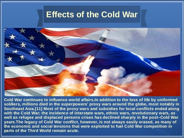 america russia and the cold war The cold war is the 'war' fought between america and the soviet union this war stemmed from the differences in their political views, and.
