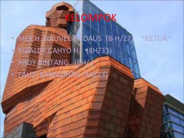 KELOMPOK  <ul><li>MOCH. NAUVEL FIRDAUS  (8-H/27)  ~KETUA~ </li></ul><ul><li>RIVALDY CAHYO H.  (8H/33) </li></ul><ul><li>AR...