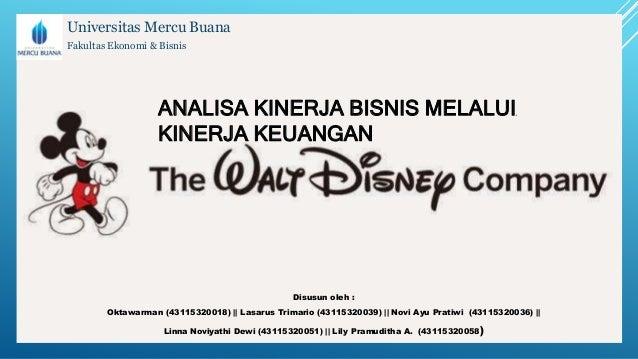 Case Study: The Walt Disney Company